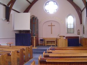 Inside Holtwood Chapel